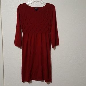 AGB sweater dress